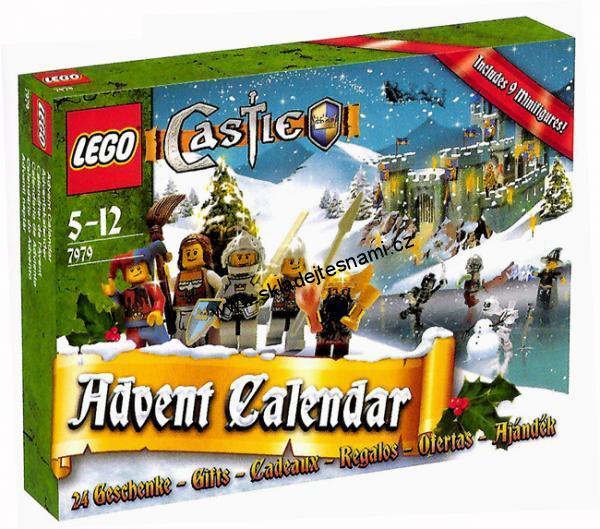 adventni kalendar lego AKČNÍ ZBOŽÍ | 7979 LEGO CASTLE ADVENTNÍ KALENDÁŘ | adventni kalendar lego