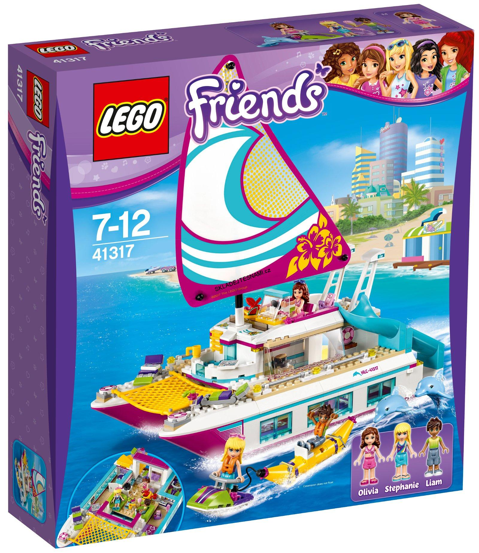 41317 LEGO FRIENDS KATAMARÁN SUNSHINE