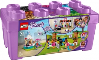 41431 LEGO FRIENDS BOX S KOSTKAMI Z MĚSTEČKA HEARTLAKE