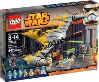 75092 LEGO STAR WARS NABOO STARFITGHTER