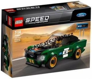75884 LEGO SPEED CHAMPIONS FORD MUSTANG FASTBACK