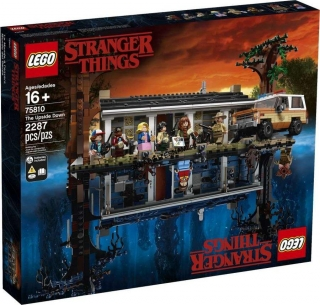 75810 LEGO UPSIDE DOWN  - STRANGER THING ART PRINT