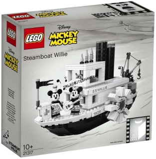 21317 LEGO IDEAS PARNÍK WILLIE