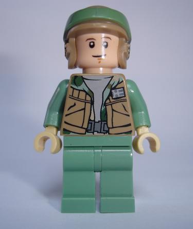 LN174 LEGO NOVÁ FIGURKA STAR WARS ZELENÁ