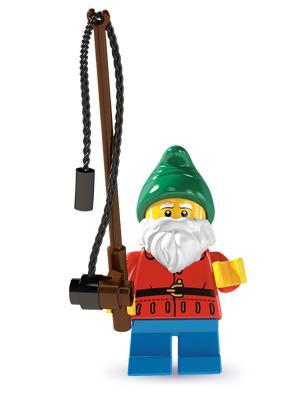 LN204 LEGO NOVÁ FIGURKA ZAHRADNÍ TRPASLÍK