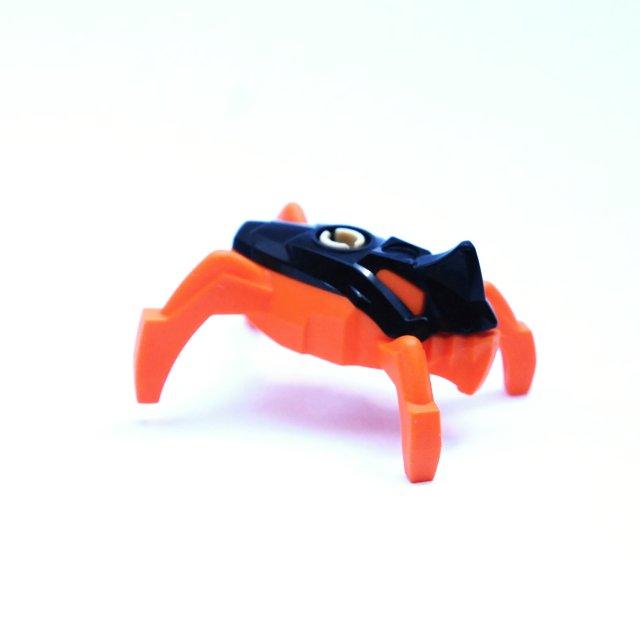 LH277 LEGO HRANÁ FIGURKA ORANŽOVÁ ROBOT