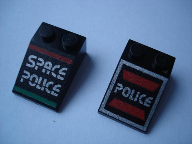 LH73 LEGO HRANÉ KOSTKY POTISK POLICIE